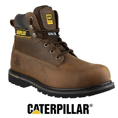 Caterpillar CAT HOLTON Brown SB Safety Steel Toe Work Boot P708025