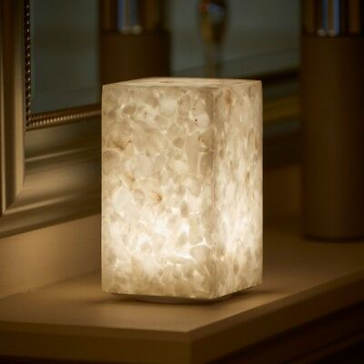 Auraglow Rechargeable Cordless Wireless Colour Changing LED Table Lamp – STONE