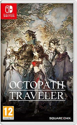 Switch-Octopath Traveller - Nintendo Switch Game Neuf