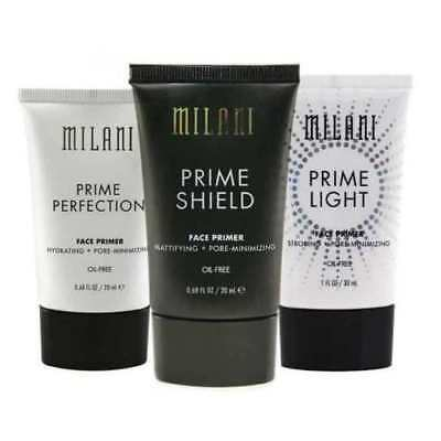 NEW SEALED~ Milani Prime Perfection, Light & Shield Face Primer Choose Your Kind