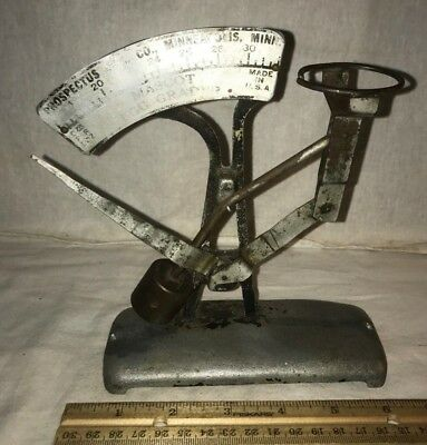 Antique Prospectus Egg Scale Vintage Chicken Farm Tool Minneapolis Mn Grader Old