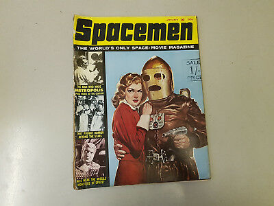 SPACEMEN MAGAZINE - Vol. 2 No. 2 - 1962 - Warren