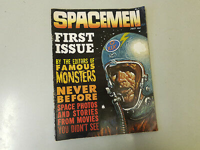 SPACEMEN MAGAZINE - No. 1 - 1961 - Warren