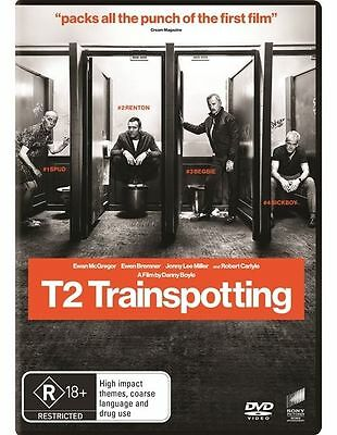 T2 Trainspotting (DVD, 2017) NEW