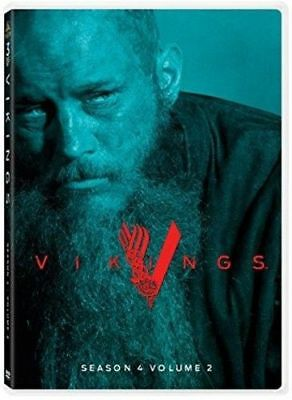 Vikings: Season 4 Volume 2 (3 Disc) DVD NEW
