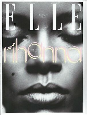 ELLE Magazine OCT 2017: RIHANNA SUBSCRIBER COVER Jack O'Connell AMANDA SEYFRIED