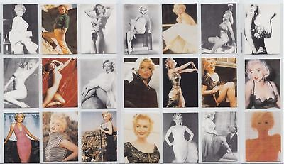 1991 Silver Screen Marilyn Monroe Trading Cards Complete 21 Set  Mint IN Box