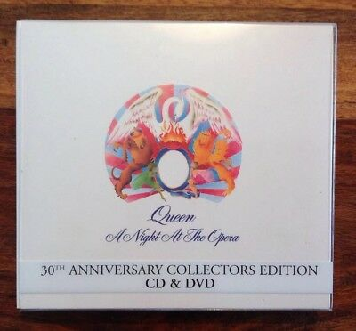 Queen - A Night At The Opera (cd + dvd 30th Anniversary Collectors Edition)