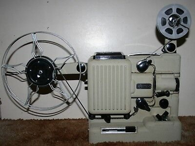 Eumig P8  M Imperial Phonomatic - Standard 8mm Cine Film Projector Silent & Case