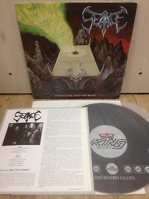 Seance - Fornever Laid To Rest 1993 Korea LP Insert No Barcode Haunted Witchery
