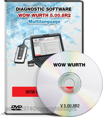Newest 2018 Diagnostic Software Wow Wurth 5.00.8R2 - Multi-Language