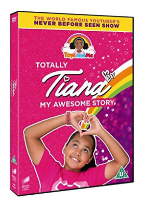 Toys & Me Totally Tiana My Awesome Story DVD NUEVO