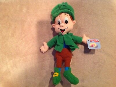 Lucky the Leprechaun Breakfast Pals Lucky Charms Cereal Plush Toy Beanie '97
