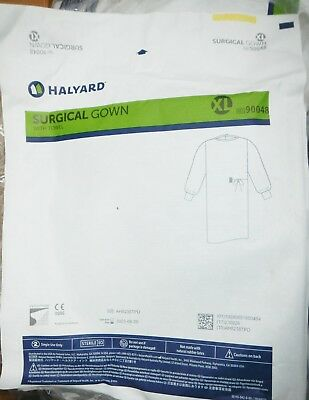 Halyard 90048 Surgical Gown XL QTY 32 Gowns