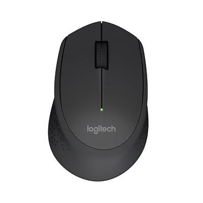 Logitech Maus M280 wireless 2.4GHz USB Rechtshand black 1000dpi
