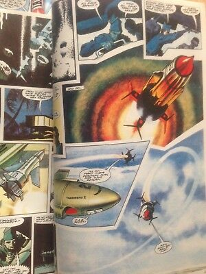 TV Century 21 comic THUNDERBIRDS x2 ISSUES FRANK BELLAMY ART PAGES & 3 Toys