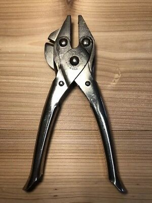 """Vintage Sargent & Co. 8"""" Parallel Jaw Pliers w/ Side Cutter - USA"""