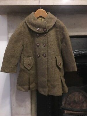 Child's Vintage Coat. Approx Age 2-3