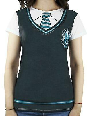 Harry Potter Slytherin School Uniform Official Costume Cosplay Womens T-Shirt