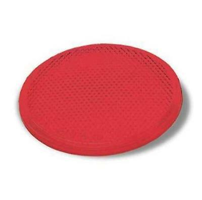 "GROTE Acrylic Stick-On Reflector, Round, Red,3"" L, 40052"