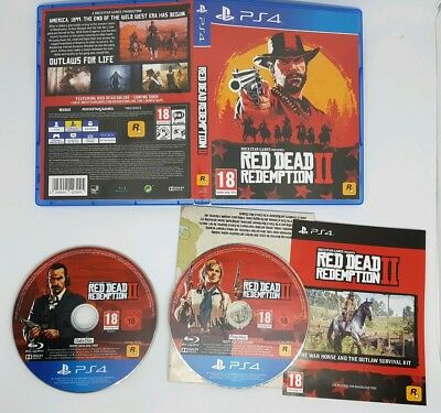 Playstation 4 Red Dead Redemption 2 PS4 - Immaculate
