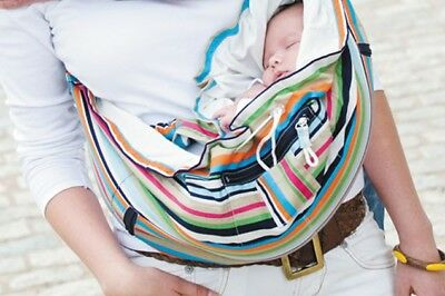 87a7dc65967 Premaxx BabyBag Baby Carrier Sling Striped Mulitcolour for 4m + Sitting  Babies