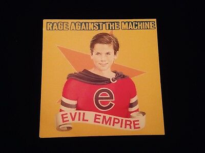 Rage Against The Machine - Evil Empire - Vinyl (First Press, Europe, 1996)