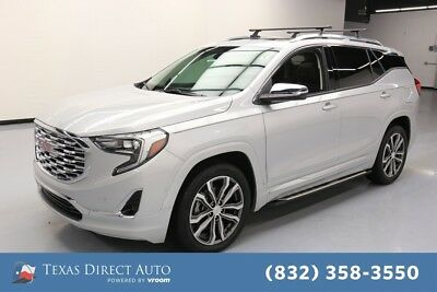 2018 GMC Terrain Denali Texas Direct Auto 2018 Denali Used Turbo 2L I4 16V Automatic FWD SUV Bose OnStar