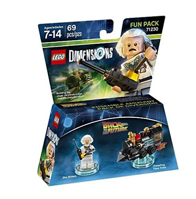 Toys-Lego Dimensions: Fun Pack - Back to the Future - Doc Brown /Vide GAME NUEVO