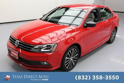 2017 Volkswagen Jetta 1.8T Sport Texas Direct Auto 2017 1.8T Sport Used Turbo 1.8L I4 16V Automatic FWD Sedan