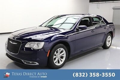 2016 Chrysler 300 Series Limited Texas Direct Auto 2016 Limited Used 3.6L V6 24V Automatic RWD Sedan