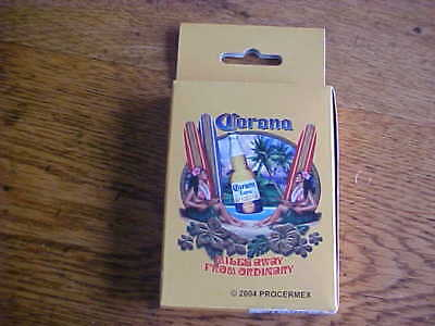 Vintage Corona Extra Playing Cards 2004 Procermex Miles Away From Ordinary