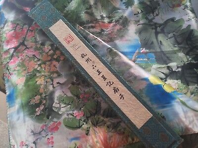 antique Chinese scarf and fan