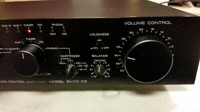 Kenwood Basic C2 Stereo Preamplifier  with MM/MC Phono Stage