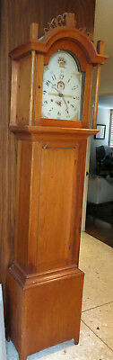 Riley Whiting Antique Wooden Works Grand Father Clock