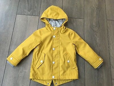 Baby Boy M&S Waterproof Coat Age 18-24 Months