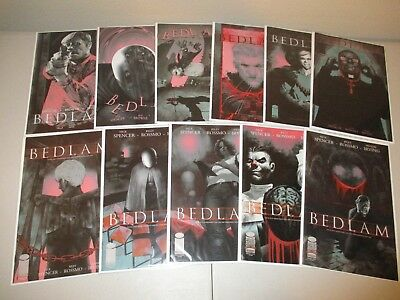 Bedlam #1-11 VF/NM (Complete 2012 Image Series) Lot Set Run, Nick Spencer