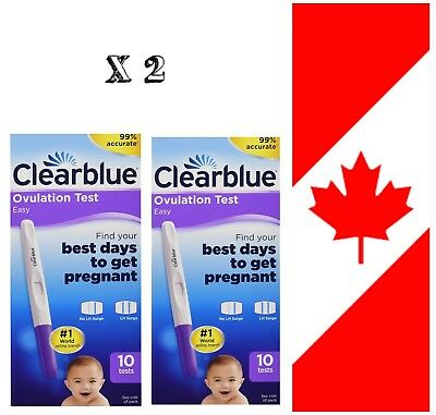 CLEARBLUE Ovulation Test EASY   20 Tests *Best Brand*  99% Accurate