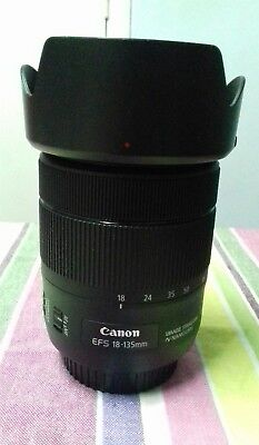 CANON EFS 18 -135mm F/3.5-5.6 IS USM LENS