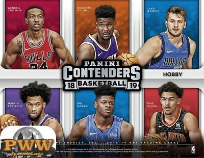 LOS ANGELES LAKERS 2018-19 Contenders Basketball 6-Box Case Break #4
