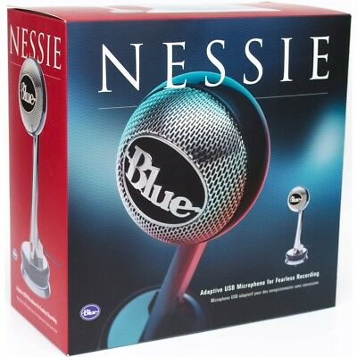 Blue Microphones Nessie Adaptive USB Cardioid Desktop Microphone (Open Box)