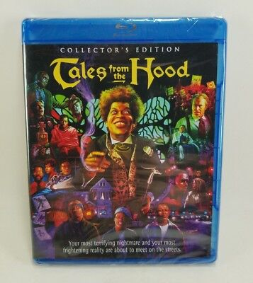TALES FROM THE HOOD New Sealed Blu-ray Collector's Edition Scream Factory RARE