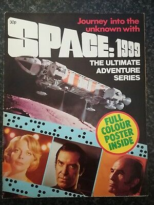 Space 1999 Poster Mag : 1975 ( UK)