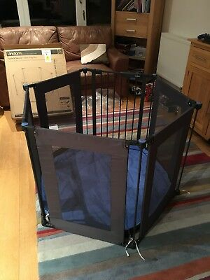 Lindam Safe And Secure Fabric Play Pen, Excellent Condition