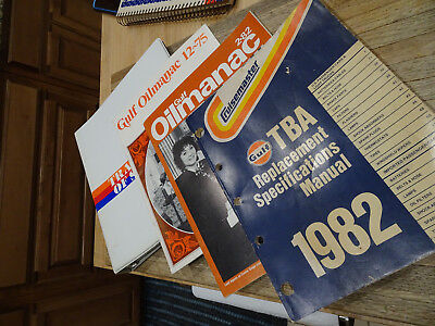GULF Manuals Books Advertising Dealer Support, TRACTOR