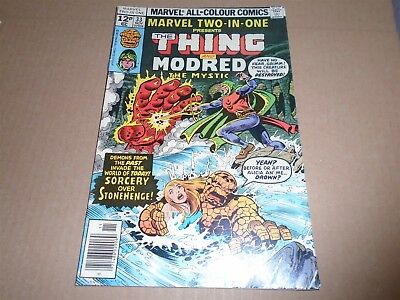 MARVEL TWO-IN-ONE #33 Marvel Comics 1977 FN