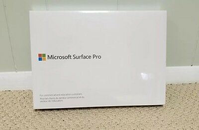 Microsoft Surface Pro 5th Gen i5 8GB 128GB Win10 Pro MODEL 1796 New Unopened!