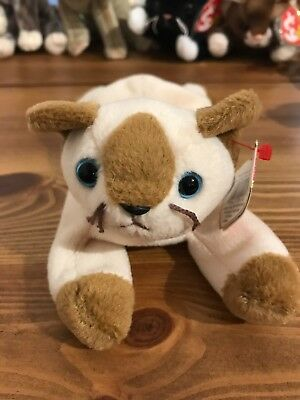 Ty Original Beanie Babies -  Snip The Cat - 1996 Handmade In Indonesia With Tag