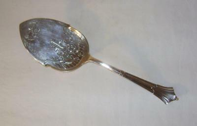 Vintage Engraved & Silver Plated Serving Slice / Spoon :  EPNS Made in  England