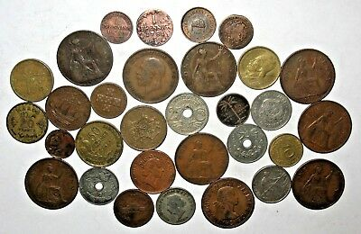 1781, 1860, 1895 & OTHER VINTAGE FOREIGN COINS! (p71)
